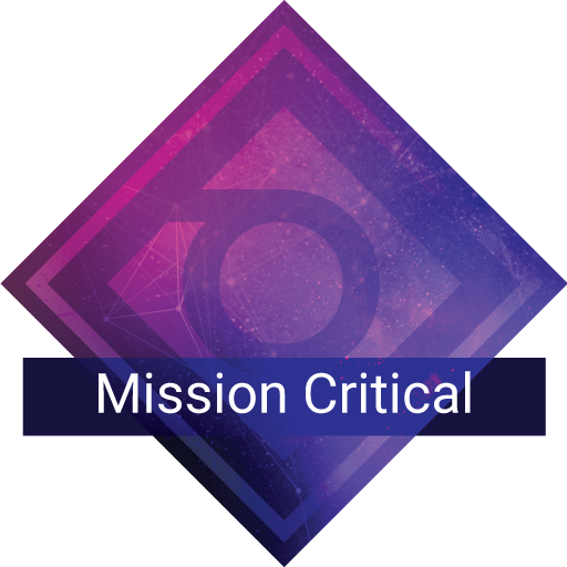 Mission Critical support plan badge
