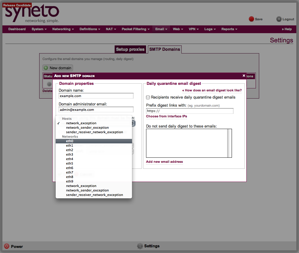 Anti-Spam SMTP Proxy Server download | SourceForge net