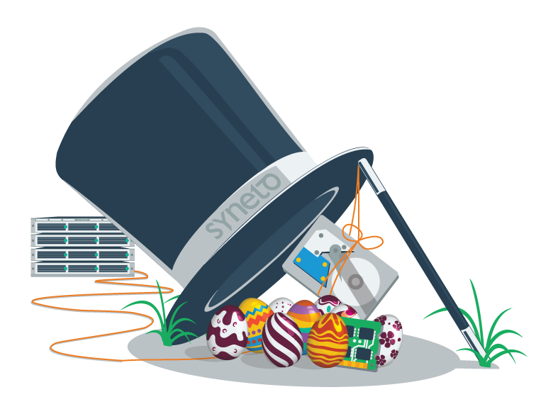 happy easter from the syneto team