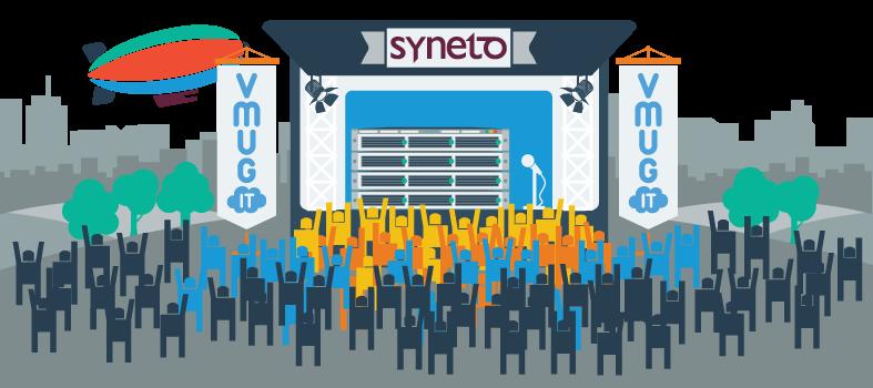 syneto sponsoring vmug italy 2014