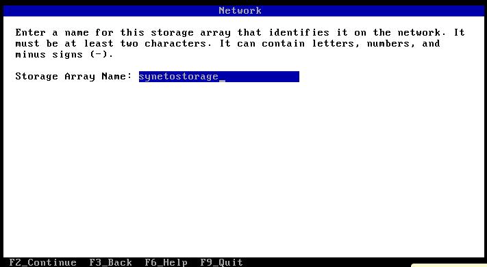 install set hostname