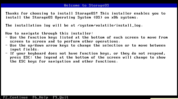 install welcome