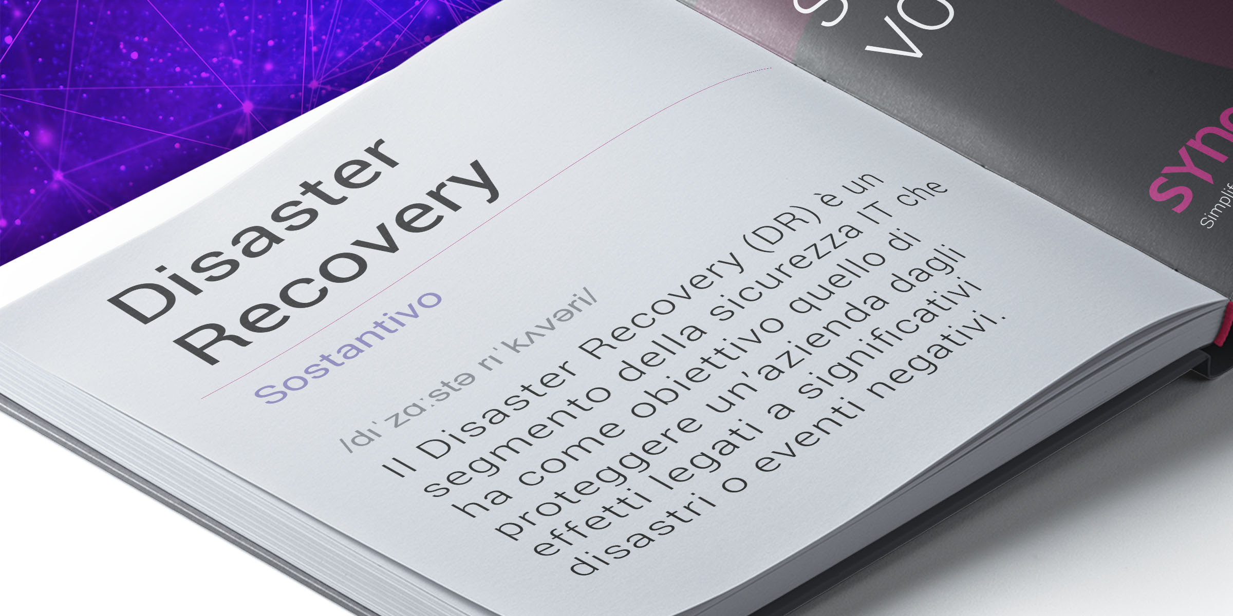 syneto-vocabulary-disaster-recovery