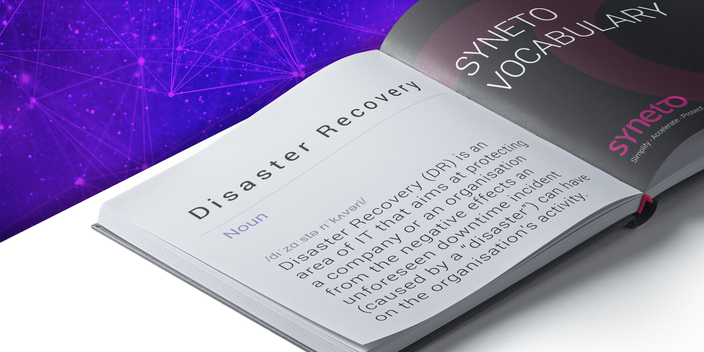 syneto-vocabulary-what-is-disaster-recovery